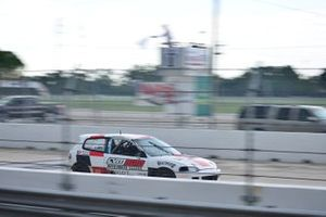 #27 MP4A Honda Civic driven by Cristian Morzan of CVM Auto Racing Team