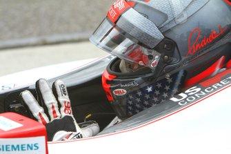 Marco Andretti, Andretti Autosport/Bryan Herta Autosport Honda waits for the start of practice