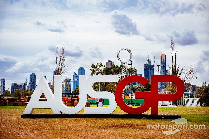 Logotipo del GP de Australia