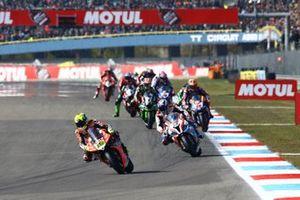 Alvaro Bautista, Aruba.it Racing-Ducati Team, Markus Reiterberger, BMW Motorrad WorldSBK Team