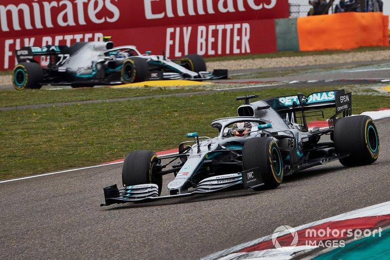 2019: Lewis Hamilton, Mercedes AMG F1 W10