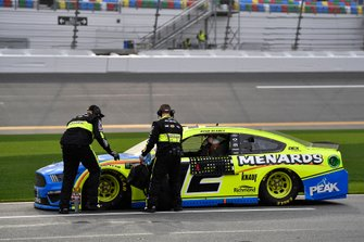 Ryan Blaney, Team Penske, Ford Mustang Menards/Peak