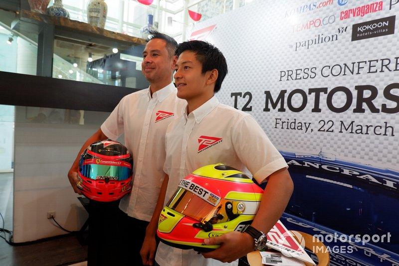 David Tjiptobiantoro dan Rio Haryanto, T2 Motorsports