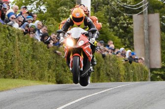 Dr. John Hinds at the Isle of Man TT