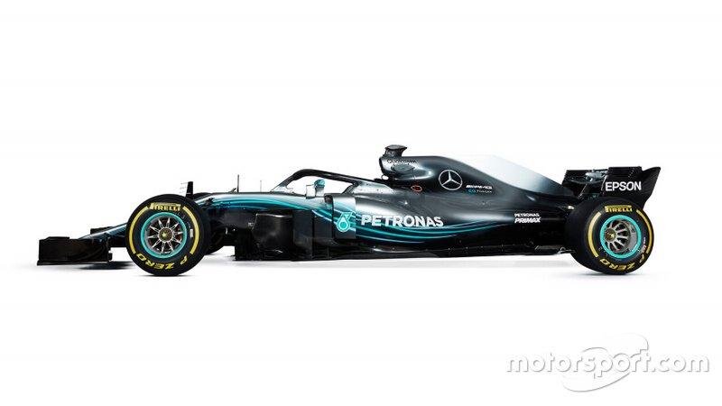 Mercedes AMG F1 W09 for comparison