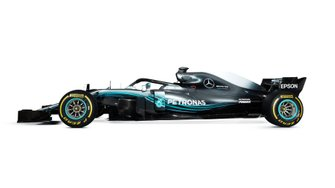 Mercedes AMG F1 W09 for comparison