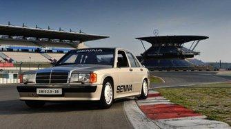 El Mercedes-Benz 190E de Ayrton Senna