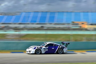 #001 MP1B Porsche GT3 Cup driven by Andor Kovacs and Peter London of TLM Racing