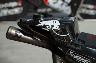 Red Bull KTM Tech 3 exhaust detail