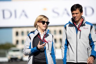 Susie Wolff, teambaas Venturi Formula E