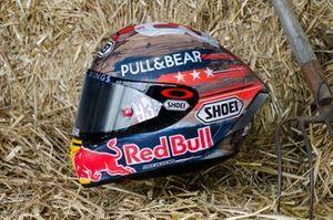 Helmet design of Marc Marquez, Repsol Honda Team