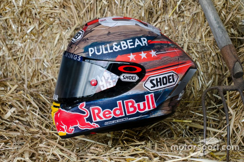 Helmet design of Marc Marquez, Repsol Honda Team