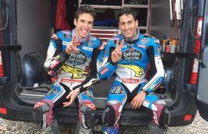 Estrella Galicia Team Moto2, Alex Marquez y Xavi Vierge