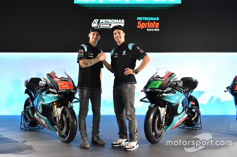 Fabio Quartararo ve Franco Morbidelli, PETRONAS Yamaha Sepang Racing Team
