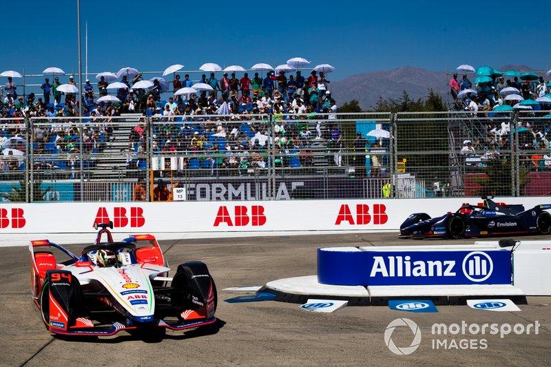 Pascal Wehrlein, Mahindra Racing, M5 Electro Sam Bird, Envision Virgin Racing, Audi e-tron FE05