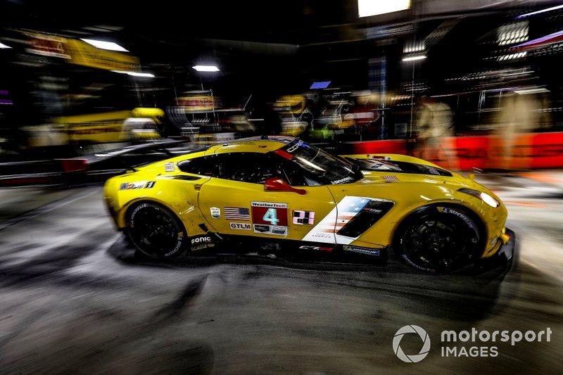 #4 Corvette Racing Corvette C7.R, GTLM: Олівер Гевін, Томмі Мілнер, Марсель Фасслер