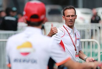 Альберто Пуиг, руководитель команды Repsol Honda Team, Марк Маркес, Repsol Honda Team