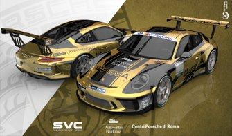 Rendering della livrea di Stefano Monaco, AB Racing
