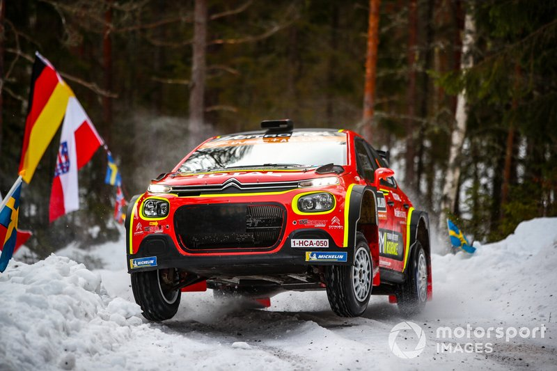Mads Ostberg, Torstein Eriksen, Citroen World Rally Team WRC2 PRO, Citroen C3 R5