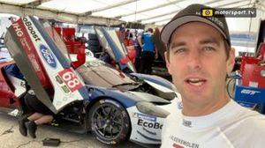 Jeroen Bleekemolen, Ford GT-test, Sebring