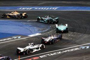 Jean-Eric Vergne, DS TECHEETAH, DS E-Tense FE19 Mitch Evans, Panasonic Jaguar Racing, Jaguar I-Type 3, Oliver Turvey, NIO Formula E Team, NIO Sport 004