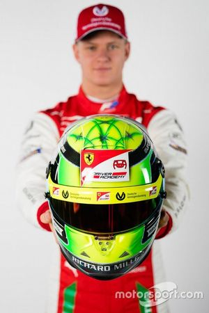 Il casco di Mick Schumacher, Prema Racing