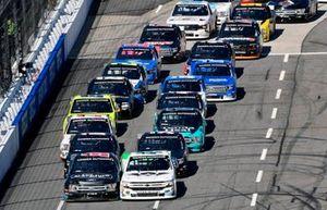Ben Rhodes, ThorSport Racing, Ford F-150 Carolina Nut and Ross Chastain, Niece Motorsports, Chevrolet Silverado TruNorth/Paul Jr. Designs