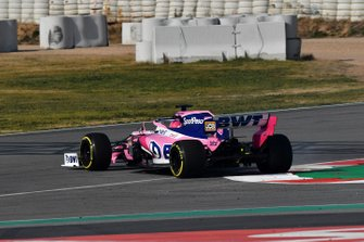 Lance Stroll, Racing Point F1 Team RP19 spins