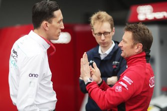 James Barclay, Team Director, Panasonic Jaguar Racing, Sylvain Filippi, Managing Director & CTO, Virgin Racing, Allan McNish, Team Principal, Audi Sport Abt Schaeffler