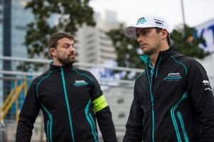 Nelson Piquet Jr., Panasonic Jaguar Racing walks the track