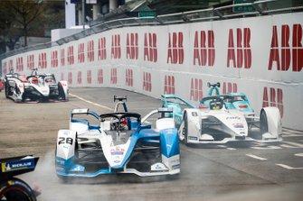 Antonio Felix da Costa, BMW I Andretti Motorsports, BMW iFE.18 Tom Dillmann, NIO Formula E Team, NIO Sport 004, Felipe Nasr, Dragon Racing, Penske EV-3