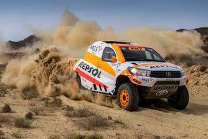 Isidre Esteve, Txema Villalobos, Repsol Rally Team Toyota