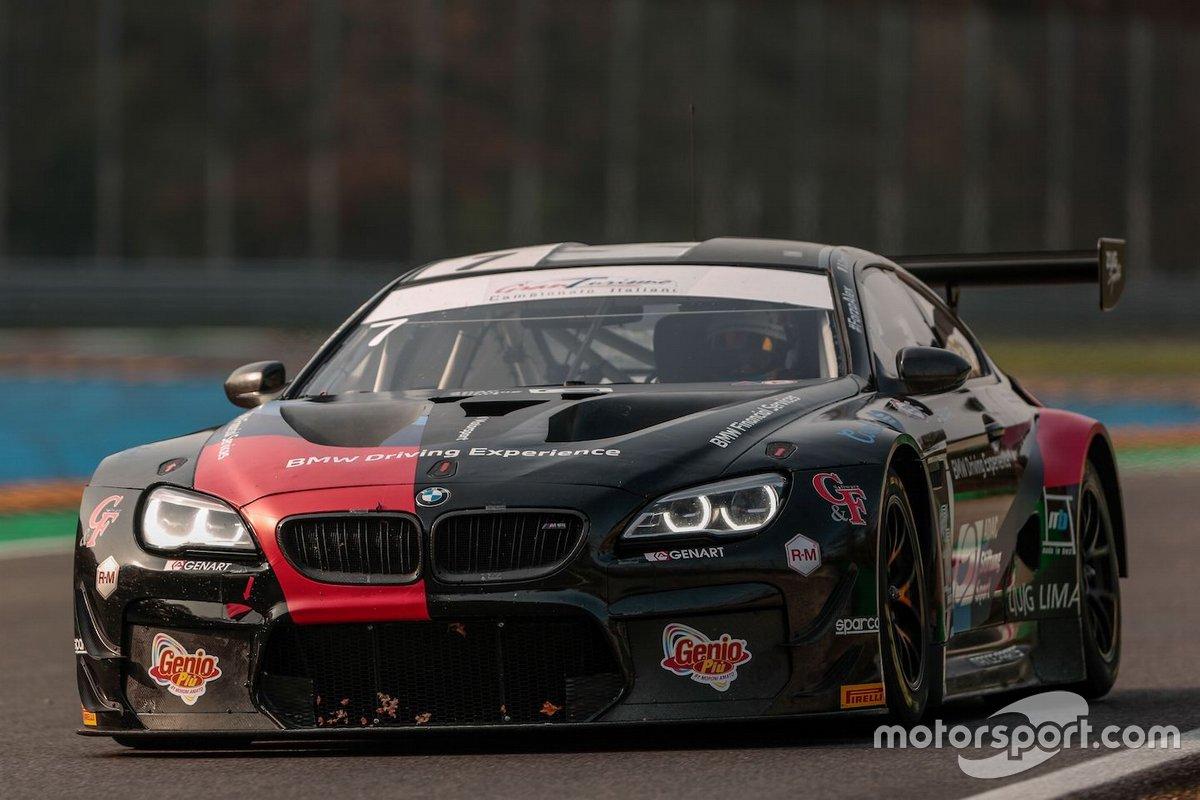 Stefano Comandini, Marius Zug, Jesse Krohn, BMW M6 GT3, BMW Team Italia