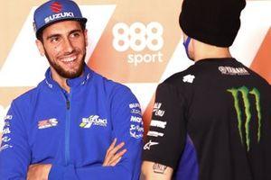 Alex Rins, Team Suzuki MotoGP, Maverick Vinales, Yamaha Factory Racing