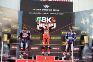 Michael van Der Mark, Pata Yamaha, Chaz Davies, ARUBA.IT Racing Ducati, Garrett Gerloff, GRT Yamaha