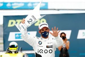 Podio: Secondo posto Timo Glock, BMW Team RMG