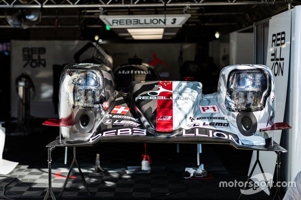 #3 Rebellion Racing - Rebellion R-13 - Gibson: Nathanae?l Berthon, Romain Dumas, Louis Delétraz