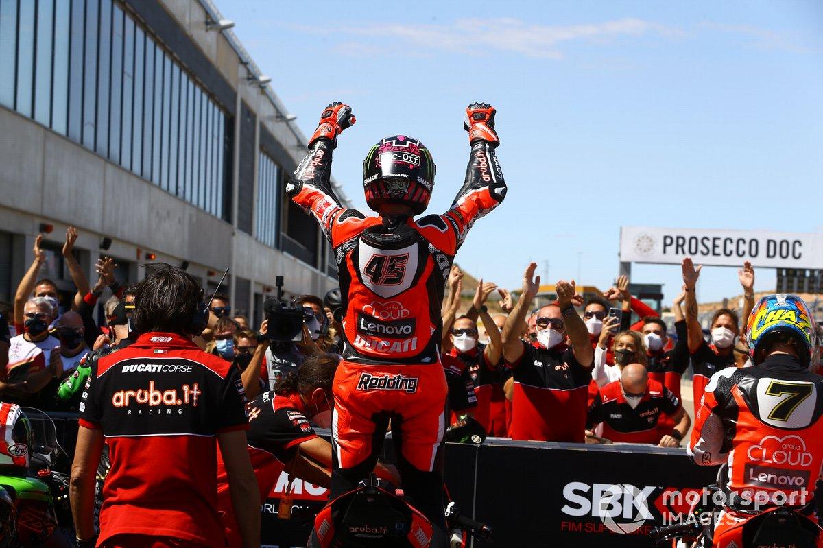 Scott Redding, Aruba.it Racing Ducati, vince la gara