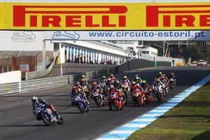 Start der Superbike-WM 2020 in Estoril: Toprak Razgatlioglu, Pata Yamaha, führt