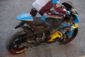 Augusto Fernandez, Marc VDS Racing, burnt out bike