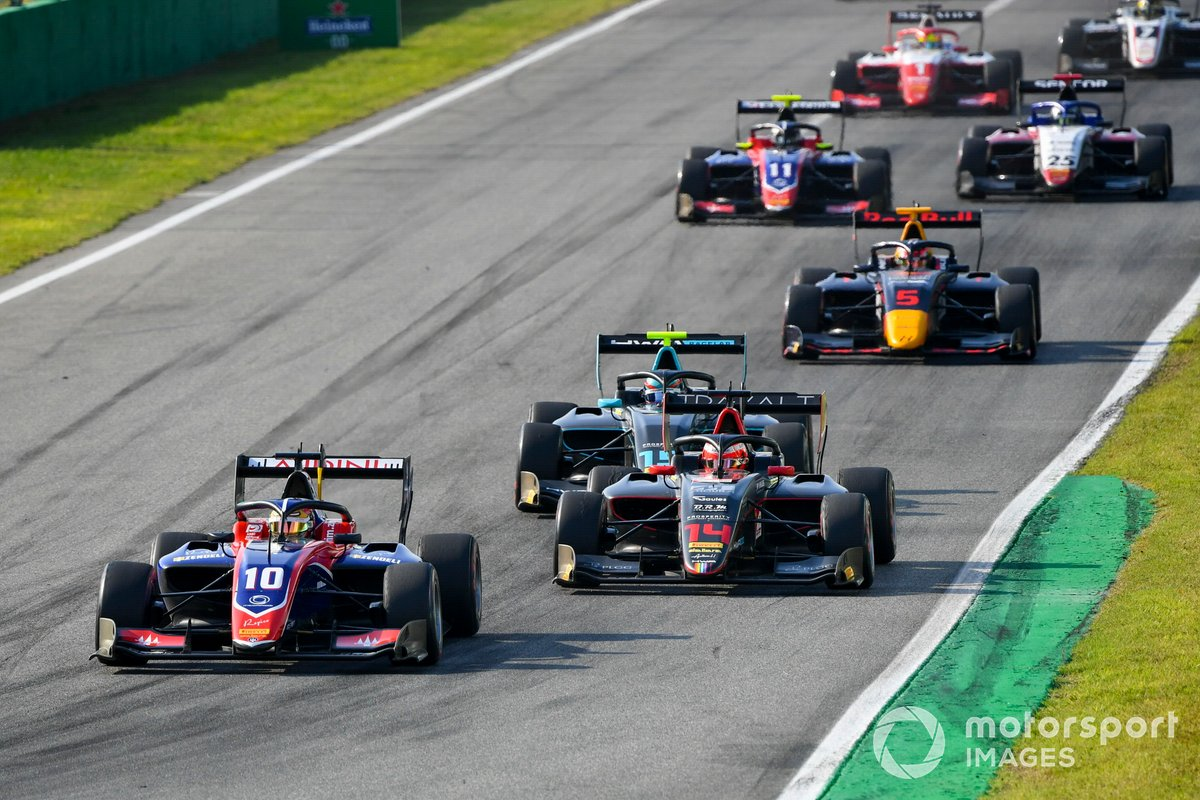 Lirim Zendeli, Trident y Enzo Fittipaldi, HWA Racelab