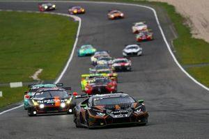 #37 FFF Racing Lamborghini Huracan GT3 Evo: Marco Mapelli, Andrea Caldarelli, Giacomo Altoe