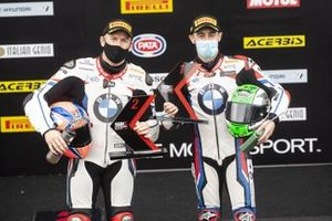 Tom Sykes, BMW Motorrad WorldSBK Team, Eugene Laverty, BMW Motorrad WorldSBK Team take 1-2 in Super pole
