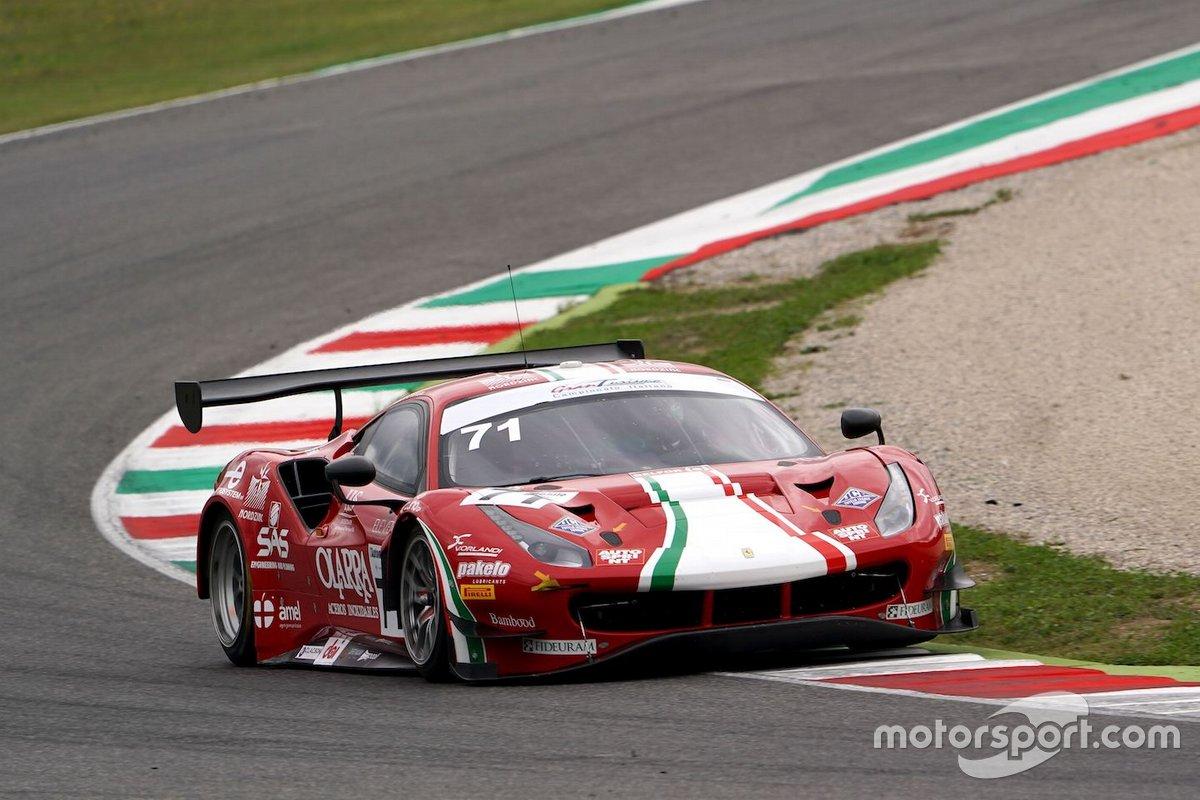 Giorgio Roda, Alessio Rovera. AF Corse, Ferrari 488 GT3