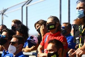 Alvaro Bautista, Team HRC supporting Victor Rodriguez Nunez, 2R Racing