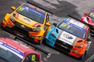 Кирилл Ладыгин, Lada Sport Rosneft, Lada Vesta TCR; Григорий Бурлуцкий, Carville Racing, Hyundai i30 N