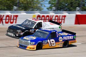 Derek Kraus, McAnally Hilgemann Racing, Toyota Tundra Ron Hornaday Throwback, Spencer Boyd, Young's Motorsports, Chevrolet Silverado