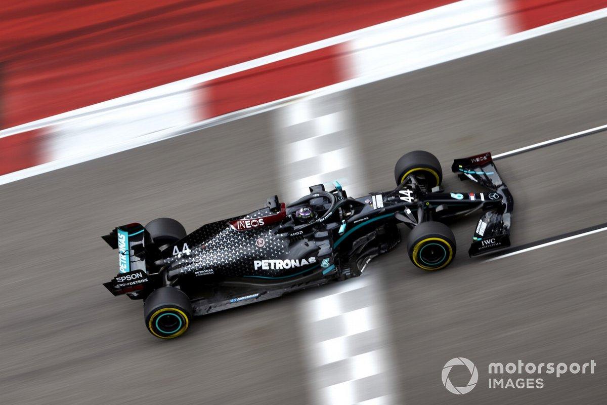 Russie - Lewis Hamilton, Mercedes