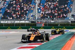 Jack Aitken, Campos Racing and Guanyu Zhou, UNI-Virtuosi