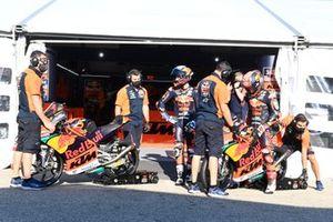 Raul Fernandez, Red Bull KTM Ajo, Kaito Toba, Red Bull KTM Ajo